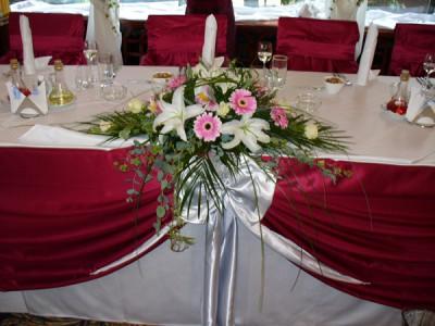 Цветя в ресторанта
