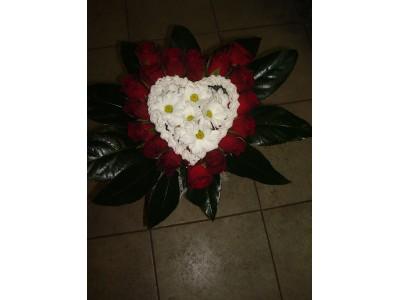 Скуплтура от цветя